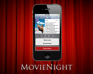 MovieNight iPhone App